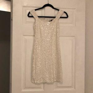 Aqua Sequin dress